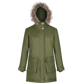 Regatta Haloma Parka Fille, cypress green